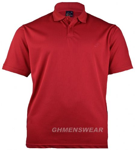 Mesh Polo Shirt RED